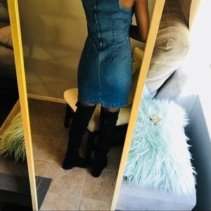 Fashion Nova Dresses - Vintage jean dress